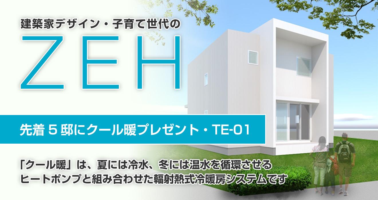 子育て世代のZEHハウス|TE-01