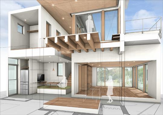12月6日(土)・7日(日)「通り土間のある眺望を生かした住まいオープンハウス | 建築家と家づ